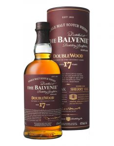 Balvenie 17 Year Old Doublewood Single Malt Scotch Whisky 70cl