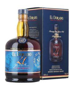 El Dorado  21 Year Old Special Reserve Rum 75cl