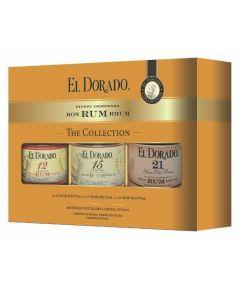 El Dorado Collection (12,15,21 Year Old Rum - 37.5cl x 3)