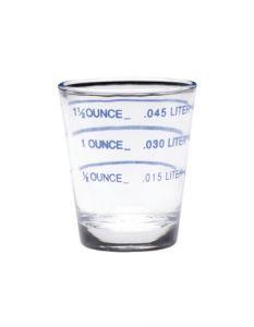 Shot Glass W/Measurement