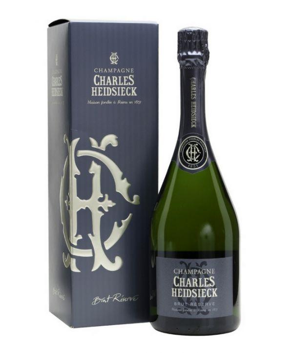 Charles Heidsieck Reserve Brut NV (Gift Box) 75cl