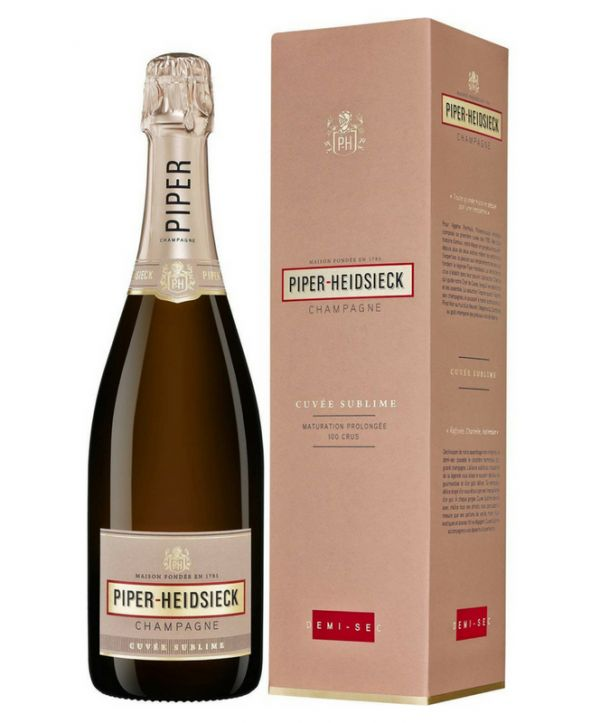 Piper-Heidsieck Cuvée Sublime Demi Sec (Gift Box) 75cl