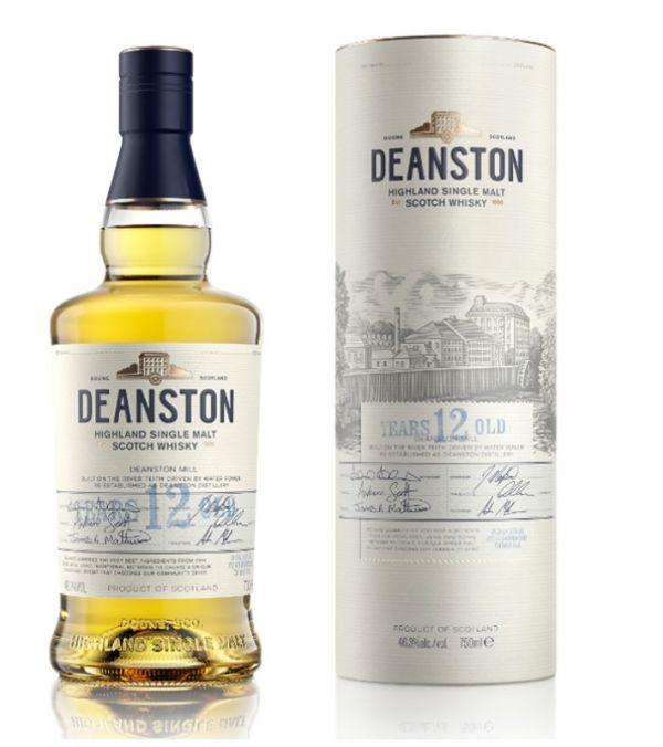 Deanston 12 Year Old Highland Single Malt Scotch Whisky 70cl