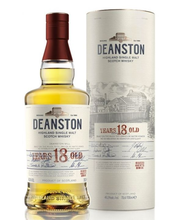 Deanston 18 Year Old Highland Single Malt Whisky 70cl