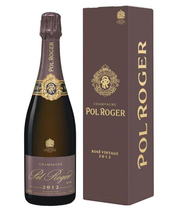 Pol Roger Rose Brut 2012 75cl