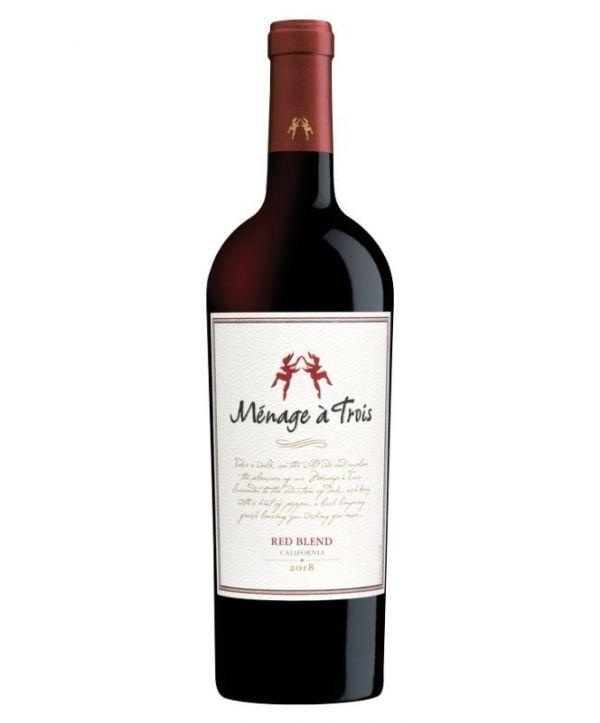 Menage A Trois California Red Blend 75cl