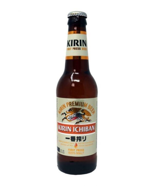 Kirin Ichiban Premium Beer 12oz