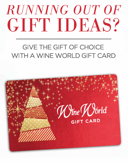 Wine World Gift Card