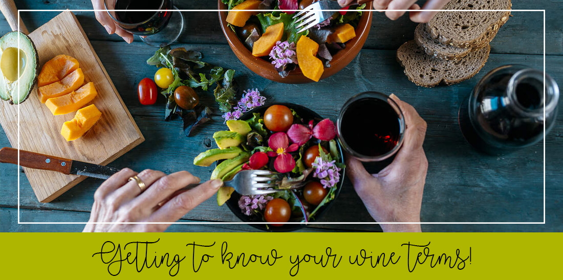 Getting to know your wine terms!